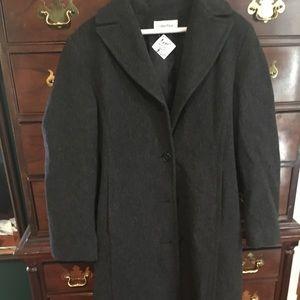 Calvin Klein nyc runway wool coat